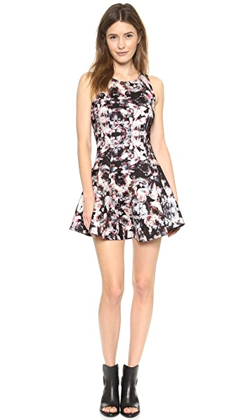 ADDISON Carmen Fit & Flare Dress