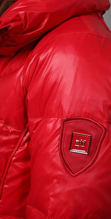 Add Down Shiny Puffy Jacket
