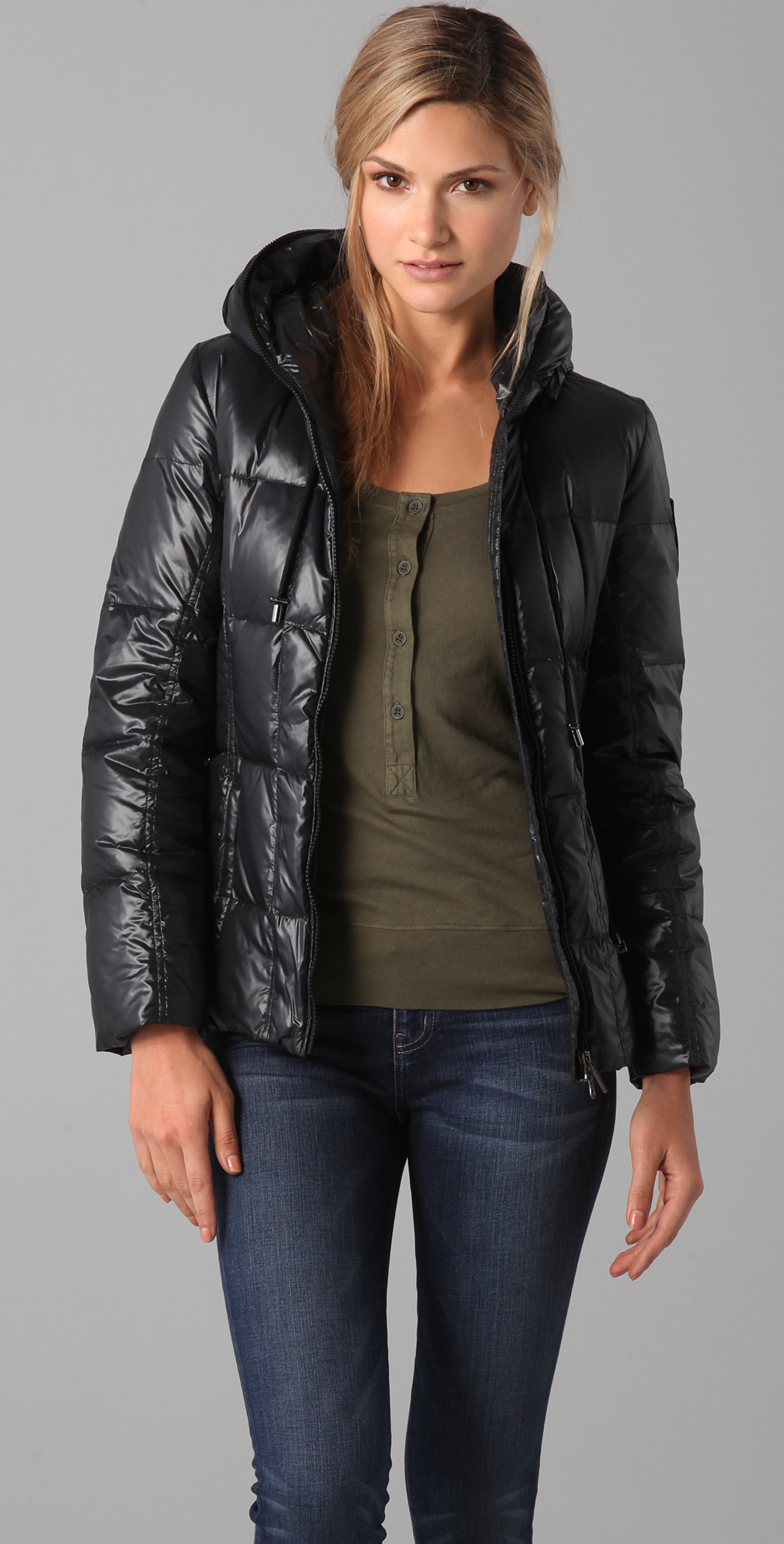 Add Down Shiny Puffer Jacket | SHOPBOP