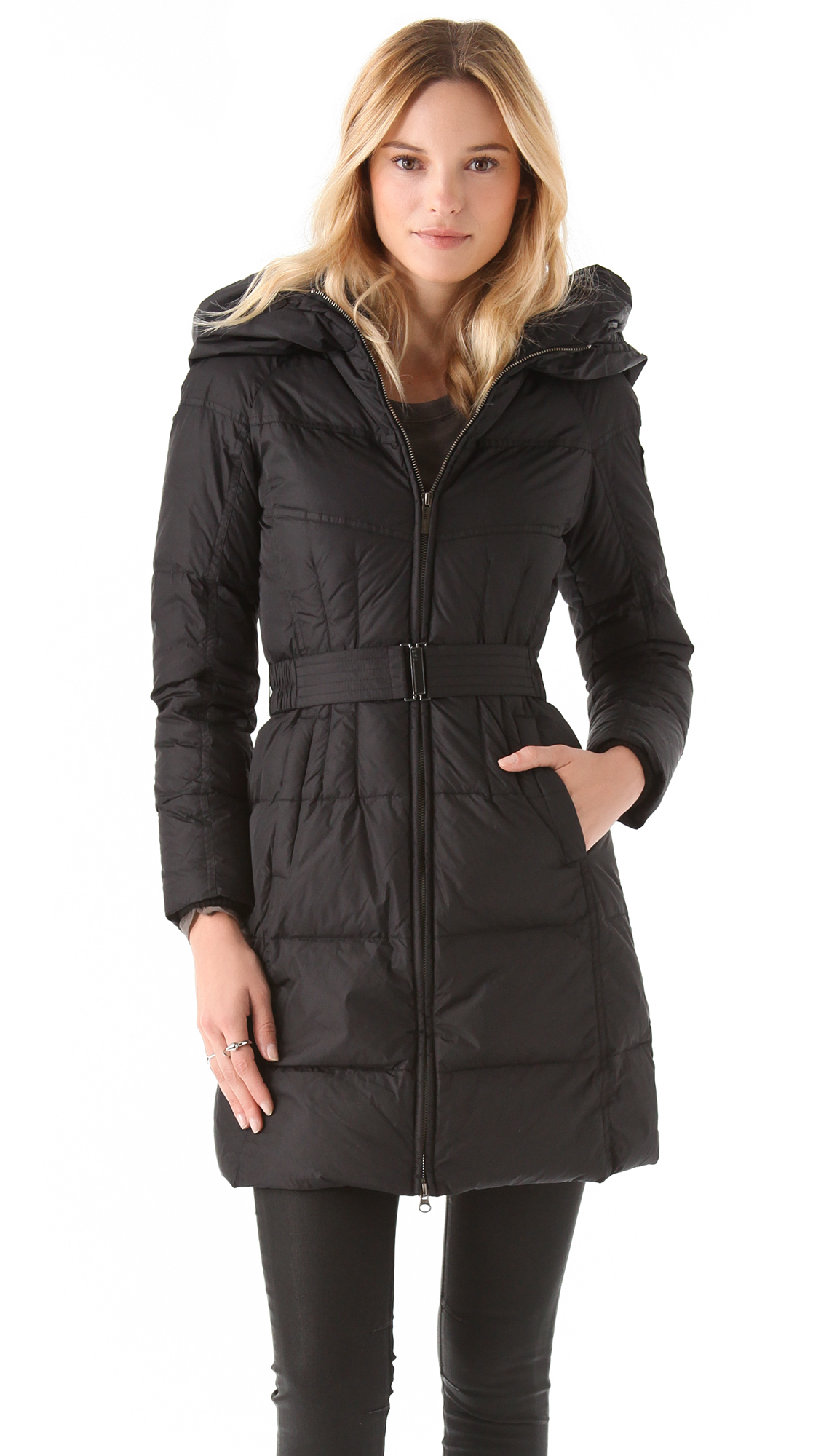Add Down Gloss Icon Puffer Coat | SHOPBOP