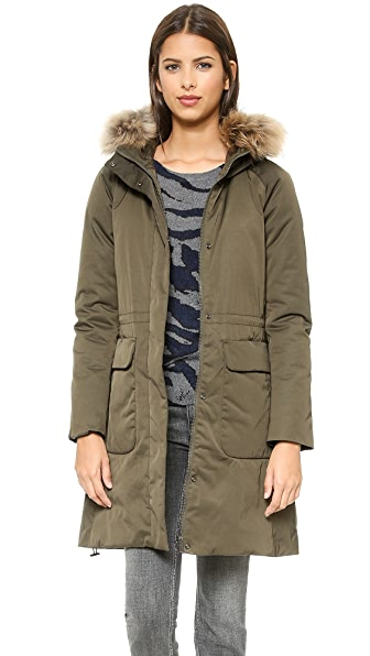 Add Down Down Parka with Fur Border | SHOPBOP SAVE UP TO 25% Use