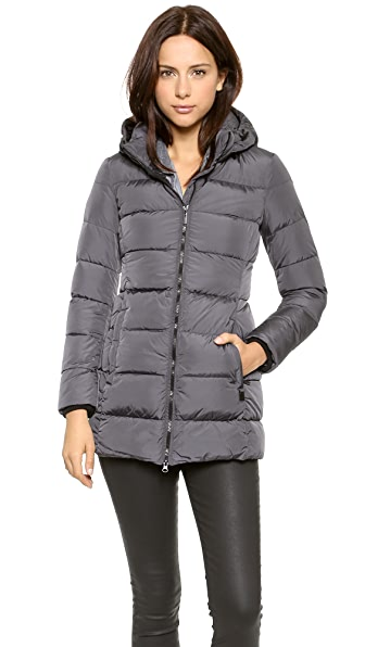 Add Down Down Coat with Hood | SHOPBOP