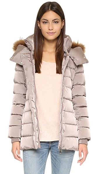 Add Down Down Jacket with Fur Hood | SHOPBOP