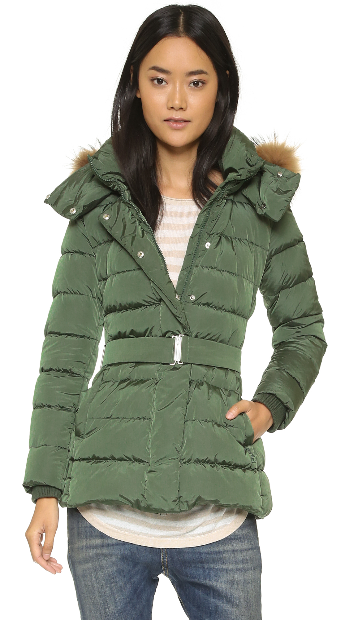 a6efdfcd7180 Add Down Down Jacket with Fur Hood
