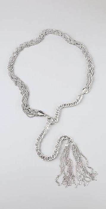 Adia Kibur Braided Chain Belt
