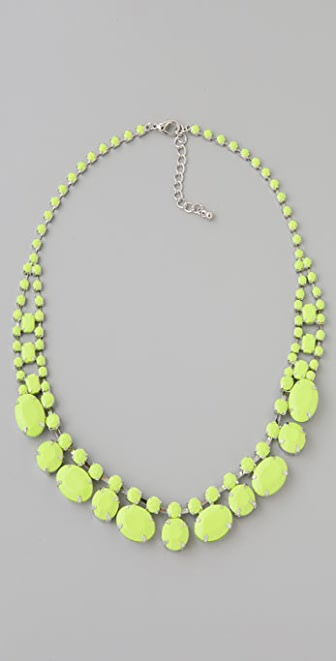 Adia Kibur Neon Stone Necklace