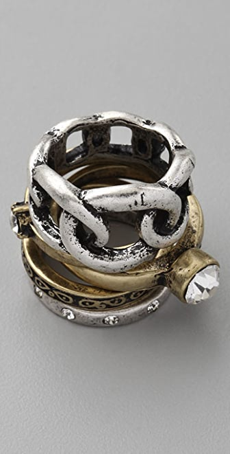 Adia Kibur Mixed Ring Set