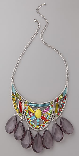 Adia Kibur Tribal Bead Necklace