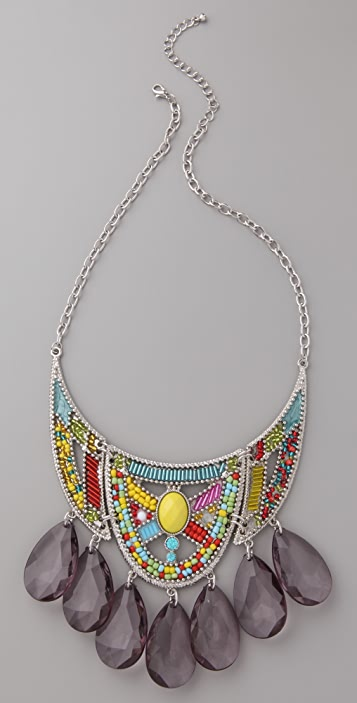 Adia Kibur Tribal Bead Necklace