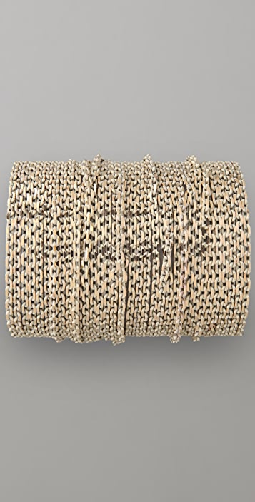 Adia Kibur Boxy Chain Bracelet