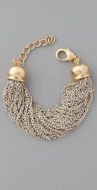Adia Kibur Chain Cluster Bracelet