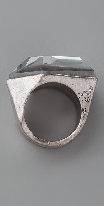 Adia Kibur Crystal Stud Ring