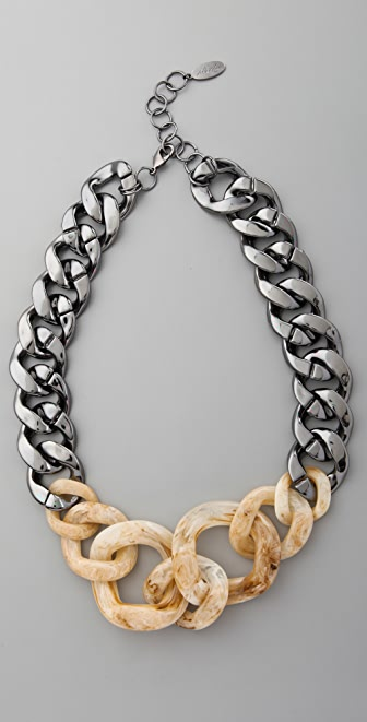 Adia Kibur Large Chain Link Necklace