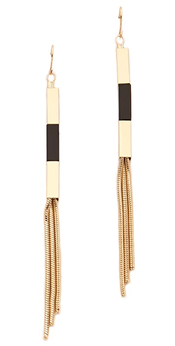 Adia Kibur Deco Drop Earrings