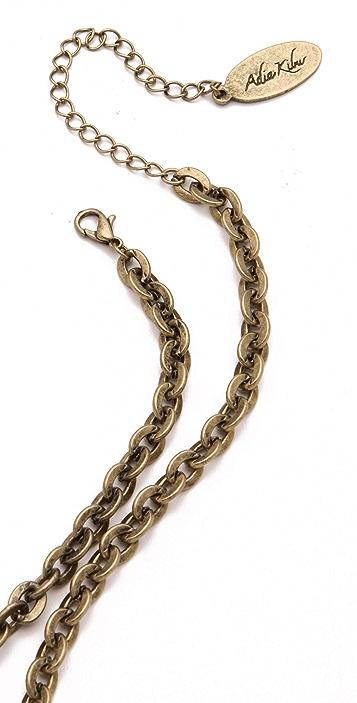Adia Kibur Triple Circle Pendant Necklace