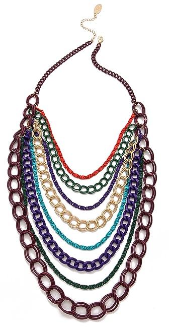 Adia Kibur Chain Link Multi Necklace