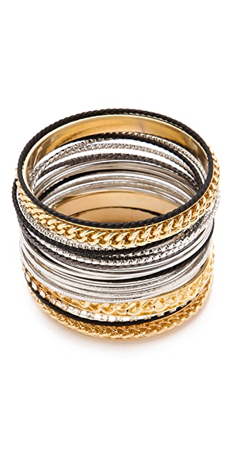 Adia Kibur Mixed Bangle Set