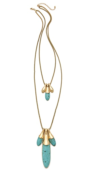 Adia Kibur Rock & Metal Layered Necklace