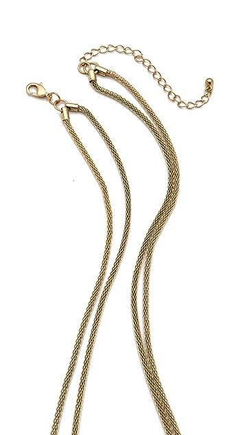 Adia Kibur Rock & Metal Layered Necklace