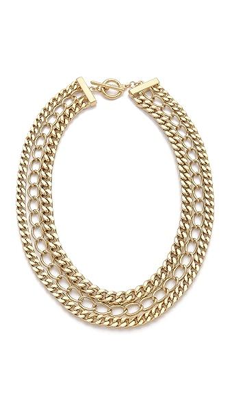 Adia Kibur 3 Layer Chain Necklace