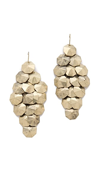 Adia Kibur Disc Chandelier Earrings