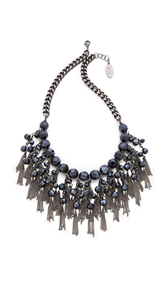 Adia Kibur Layered Bib Necklace
