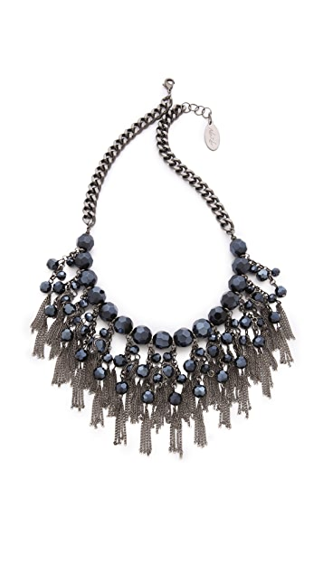Adia Kibur Layered Bib Necklace