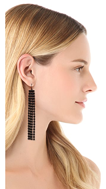 Adia Kibur Multi Teardrop Earrings