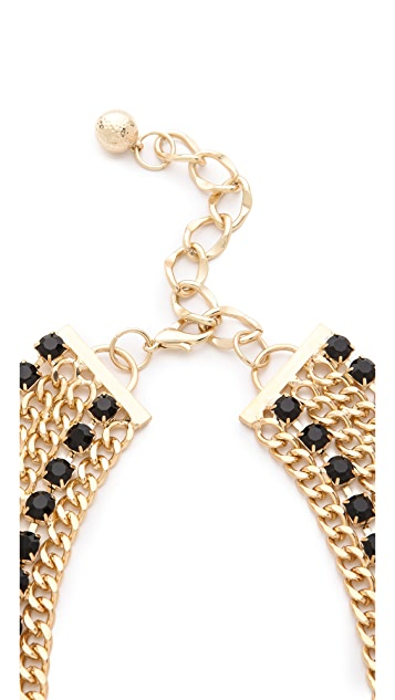 Adia Kibur Crystal Encrusted Collar