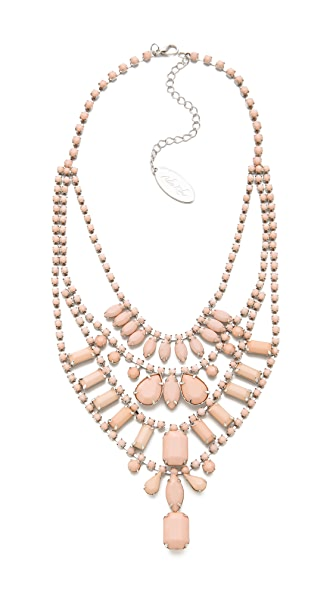 Adia Kibur Multi Layer Pastel Necklace