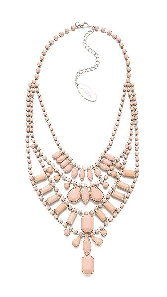 Adia Kibur Multi Layer Pastel Necklace