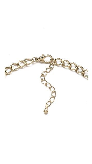 Adia Kibur Gold & Enamel Collar