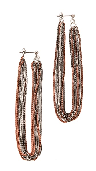 Adia Kibur Fringe Earrings