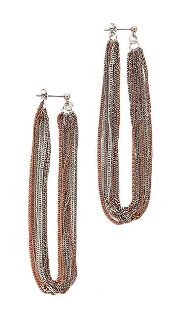 Adia Kibur Fringe Earrings
