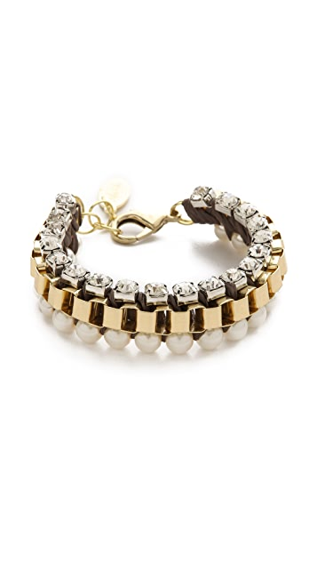 Adia Kibur Chiffon Chain Bracelet