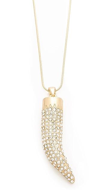Adia Kibur Horn Necklace