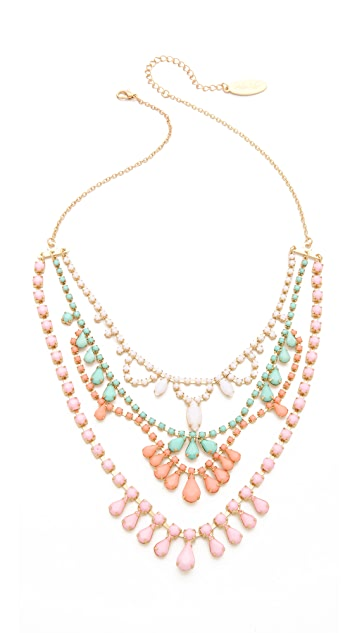 Adia Kibur Layered Stone Necklace