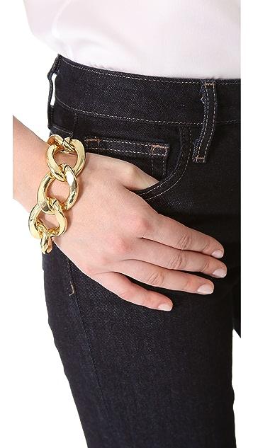 Adia Kibur Link Chain Bracelet