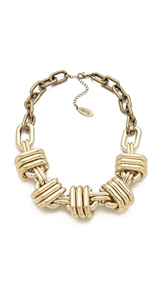 Adia Kibur Thick Statement Necklace