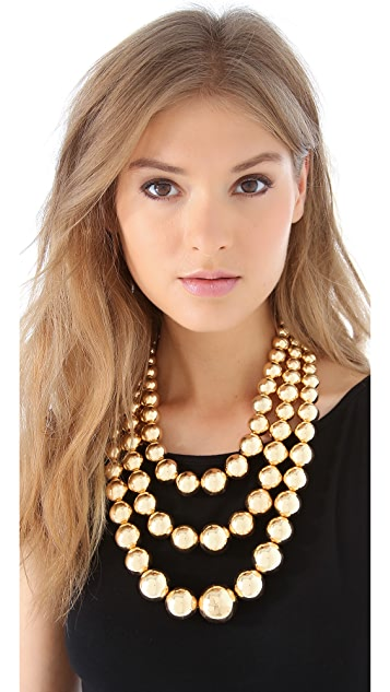 Adia Kibur Layered Ball Necklace