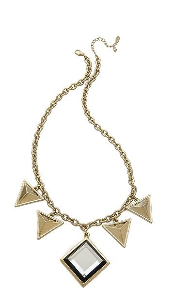 Adia Kibur Triangle Drop Necklace