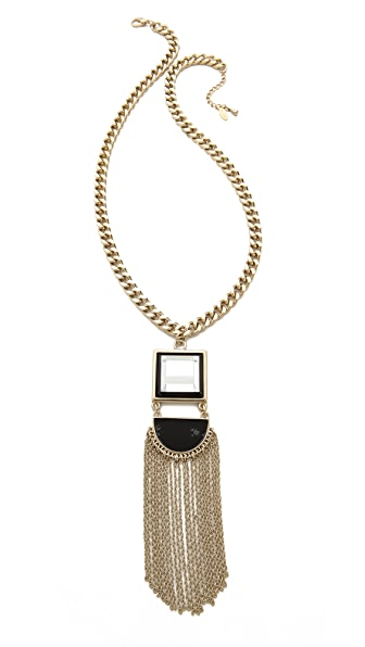 Adia Kibur Fringe Drop Necklace