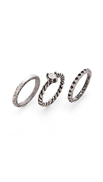 Adia Kibur Stackable Midi Ring Set