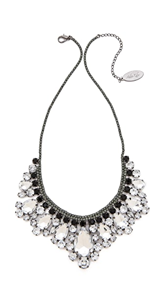 Adia Kibur Crystal Fringe Necklace