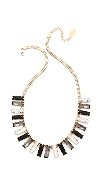 Adia Kibur Square Fringe Necklace