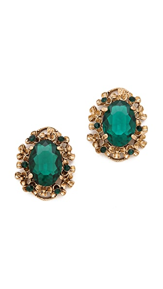 Adia Kibur Classic Gemstone Earrings