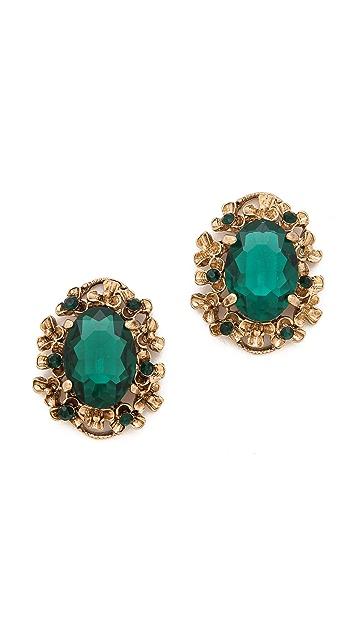 Adia Kibur Classic Gemstone Earrings
