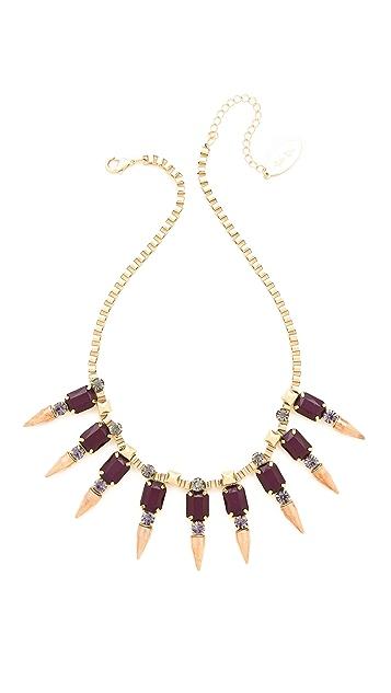 Adia Kibur Spike Pointed Necklace