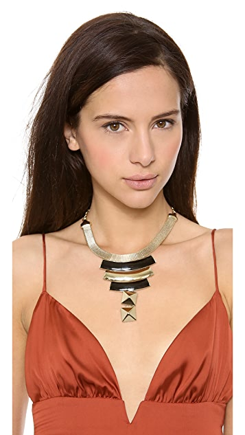 Adia Kibur Modern Plate Necklace