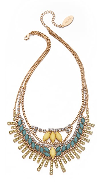 Adia Kibur Stone Layer Necklace